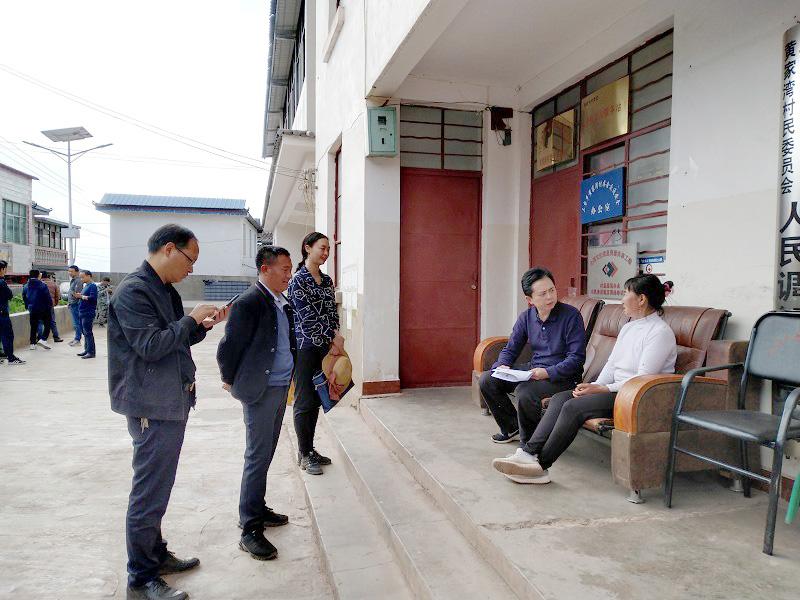 潘红伟在大姚县三台乡调研脱贫攻坚和乡村振兴工作开展调研